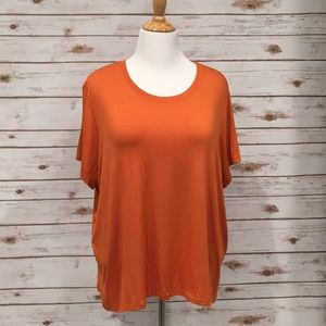 NWT Michael Kors Basic Tee in Ginger
